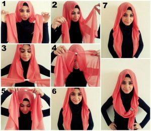 7 Steps of How to Wear a Hijab