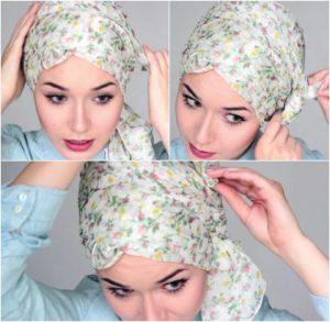 Hijab as Rosette Turban 1