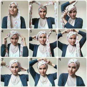 Hijab as Rosette Turban