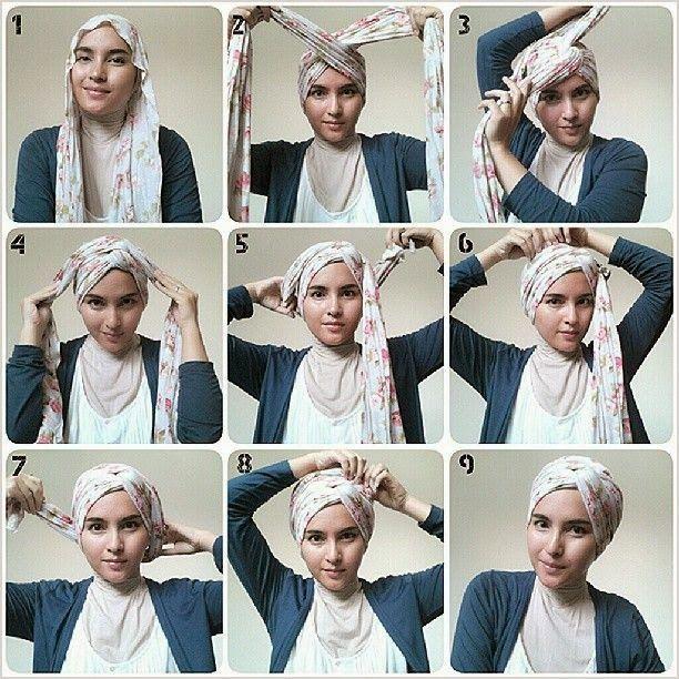 Hijab as Rosette Turban