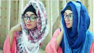 Hijab with Spectacles 1
