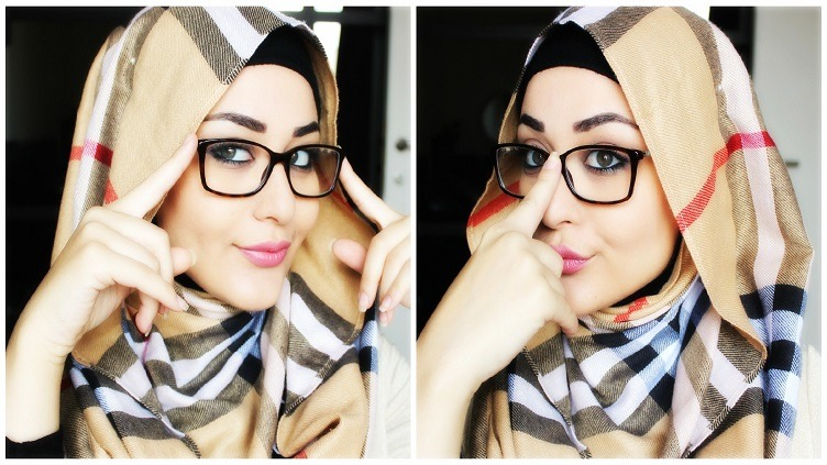Hijab with Spectacles 2