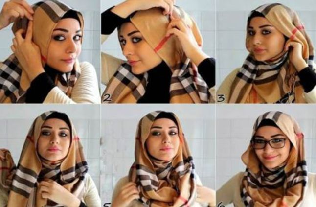 Hijab with Spectacles