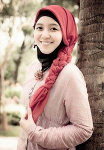 braided hijab