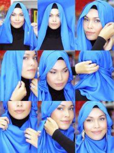 hijab with Earrings