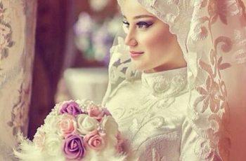 Beautiful muslim bride