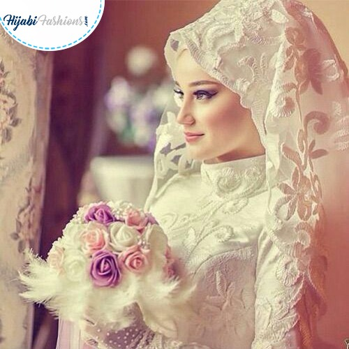 Beautiful muslim bride