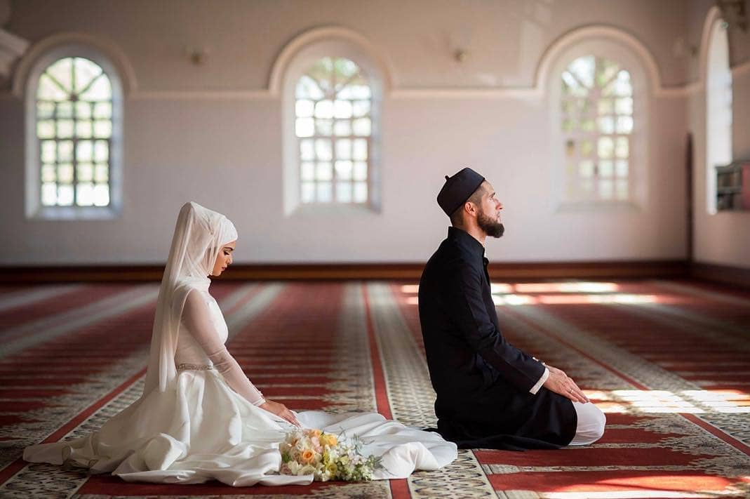 Hijabi Muslim Couples