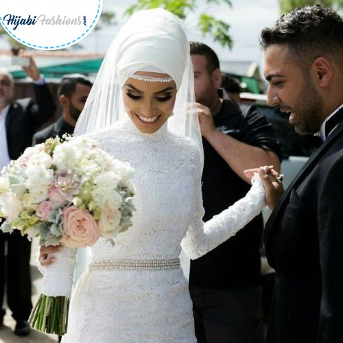 gorgeous Muslim bride