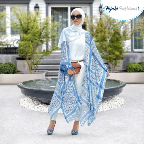 cotton hijab design