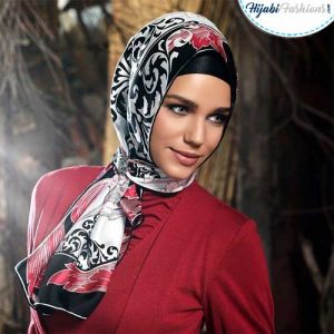 Elegant Hijab Look for Work