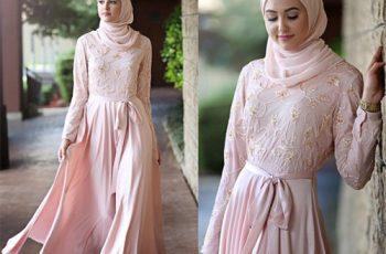 High-end Glamorous hijab