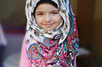 Hijab style for children