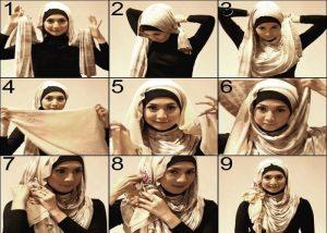 How to tie turkish Hijab style 2018