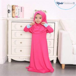 Kids prayer hijab