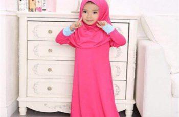 Kids prayer hijab
