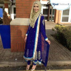 Traditional hijab Dress