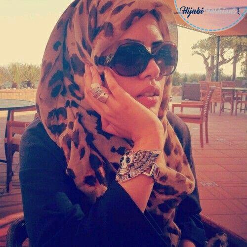 Animal Printed Turban Hijab