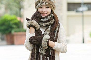 Fur Hooded Scarf