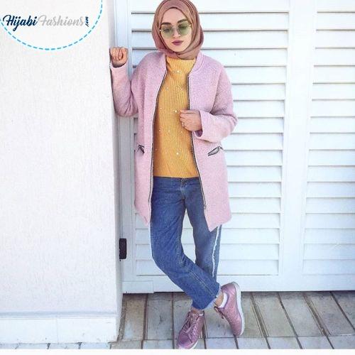 Summer hijab style