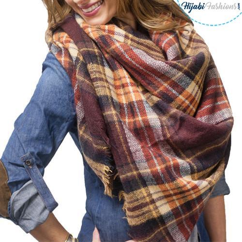 blanket scarf fashion