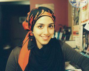 Bandana hijab style