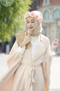 Crown hijab
