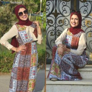 Egyptian Hijab with Maxi Style
