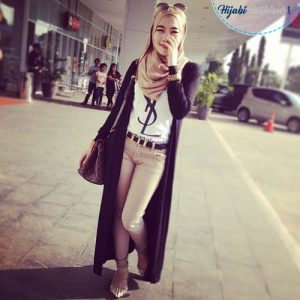 Funky Egyptian Hijab Style