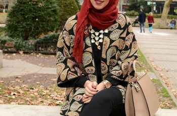 Hijab-Style-with-a-Gown