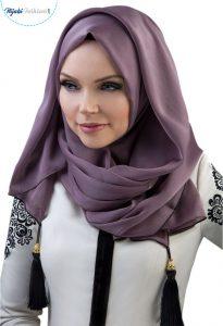 Hijabs with tassels