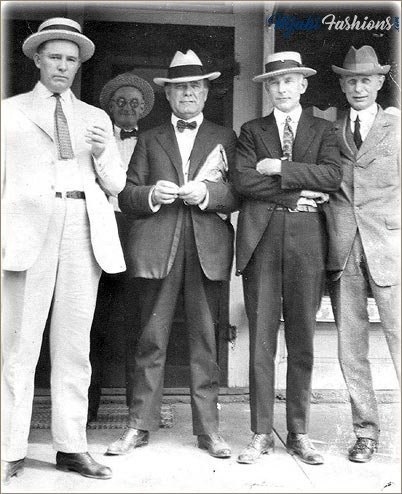 1920's Mens Fashion Suits