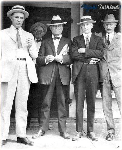 1920's Mens Fashion Suits