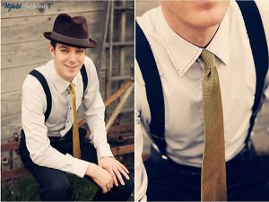 1940' Mens Suspenders
