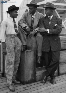 1940's Mens Suit trousers