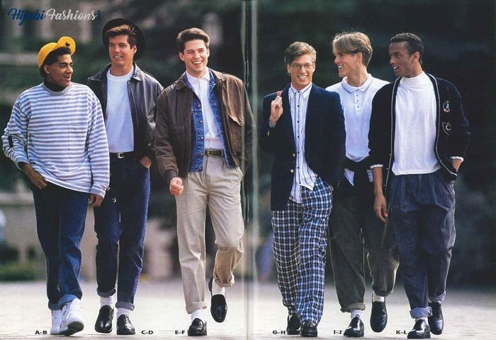 80's Men Suits