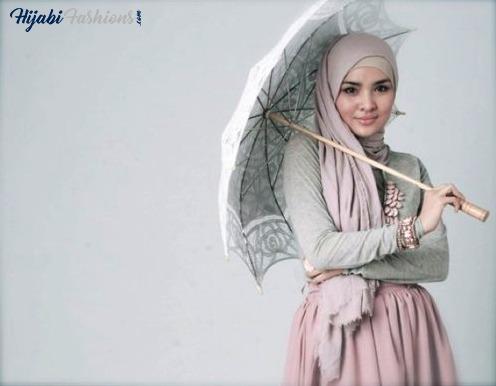 Simple Indonesian hijab