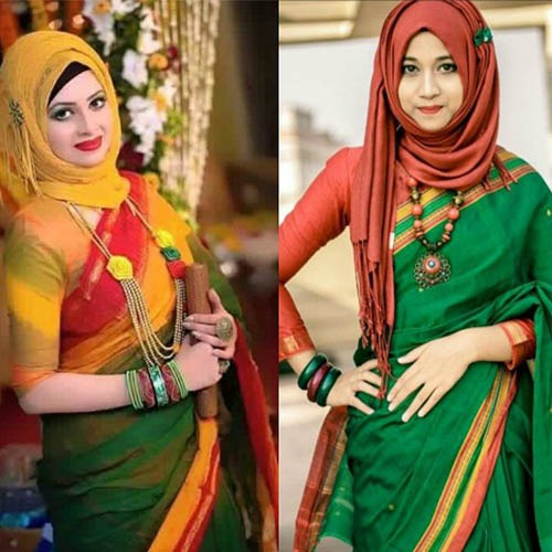 indian hijab style