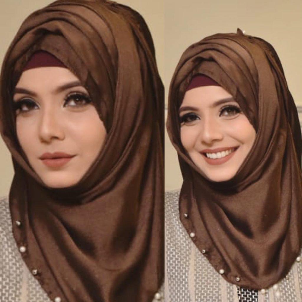 Fabiha Sherazi Pakistani Hijab Style 2019
