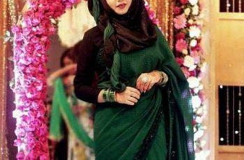 indian hijab style1