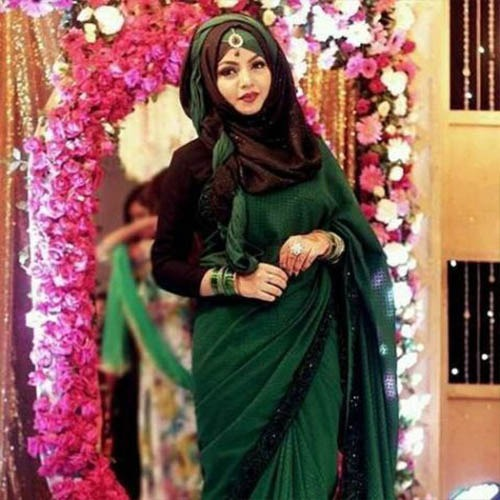 Latest indian hijab style